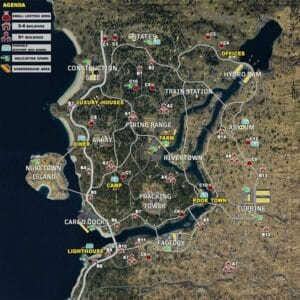 Blackout Map