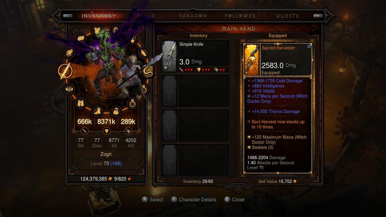 Diablo 3 Switch Review