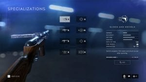 Battlefield V weapons