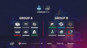 ESL One Hamburg Groups