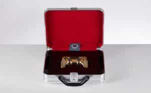 Golden DualShock Case
