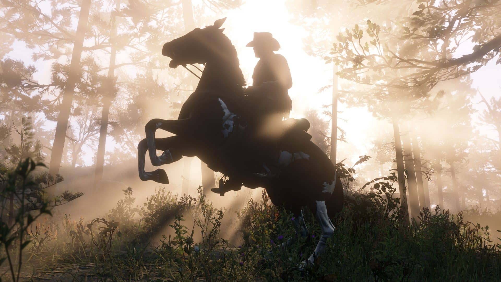 Red Dead 2 horses