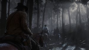 Red Dead 2 travelling