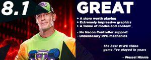 WWE 2K19 review score