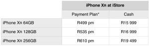 pre-order iPhone XR