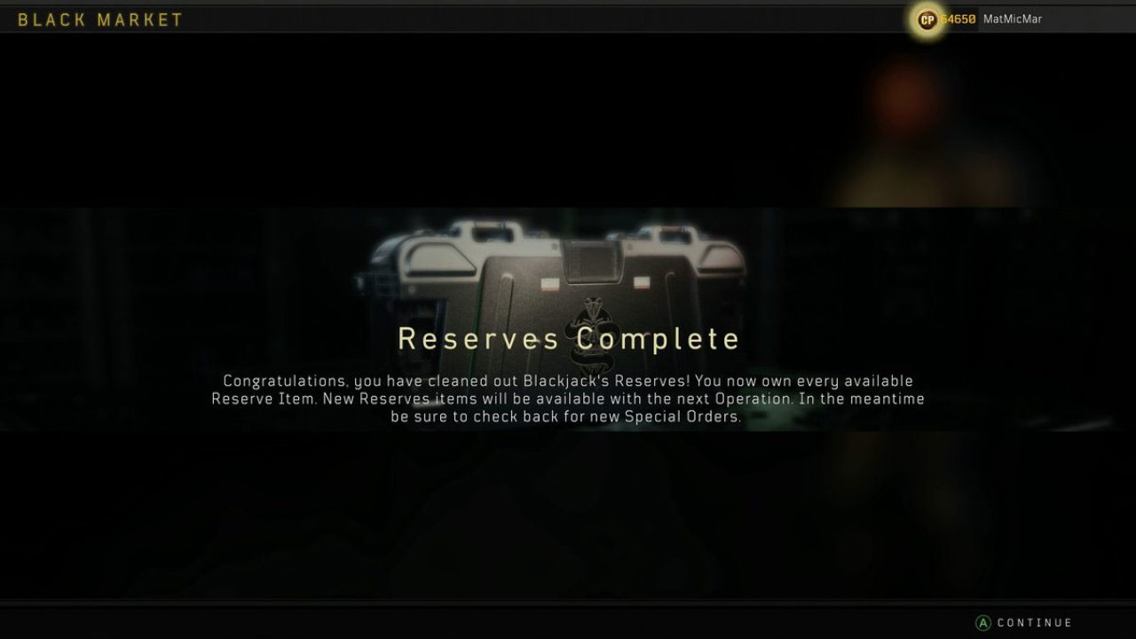 Someone Spent Over R14K In Black Ops 4's Black Market To Unlock This