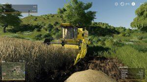 Farming Simulator 19 harvesting
