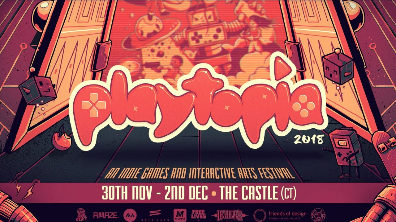 Playtopia 2018: A 3-Day Indie Games & Playful Media Festival in SA