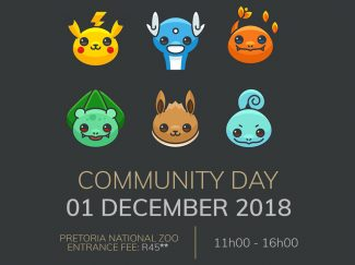 South African Pokémon GO Community Day