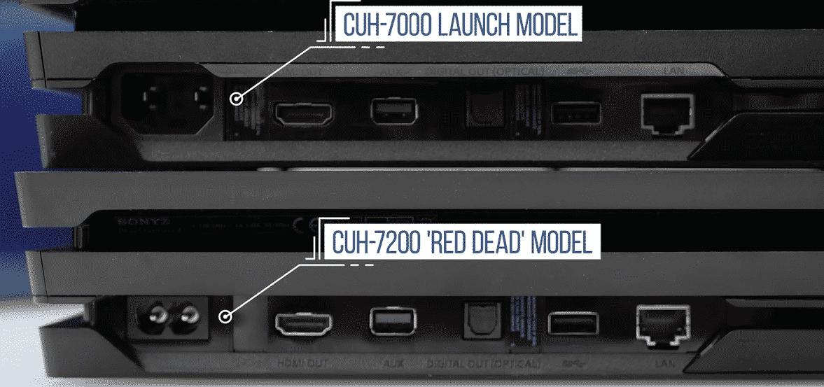 Ps4 Pro 7200 Series