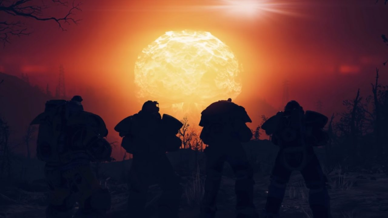 Three Fallout 76 Nukes Dropped Simultaneously, Crashing The Server