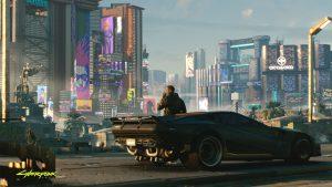 Cyberpunk 2077 Day One Update world map night city cd projekt red