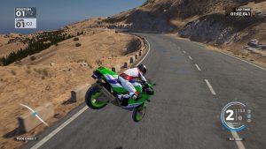 RIDE 3 crash