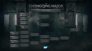 Chongqing Major playoffs bracket