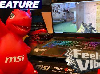 vibrating gaming laptop