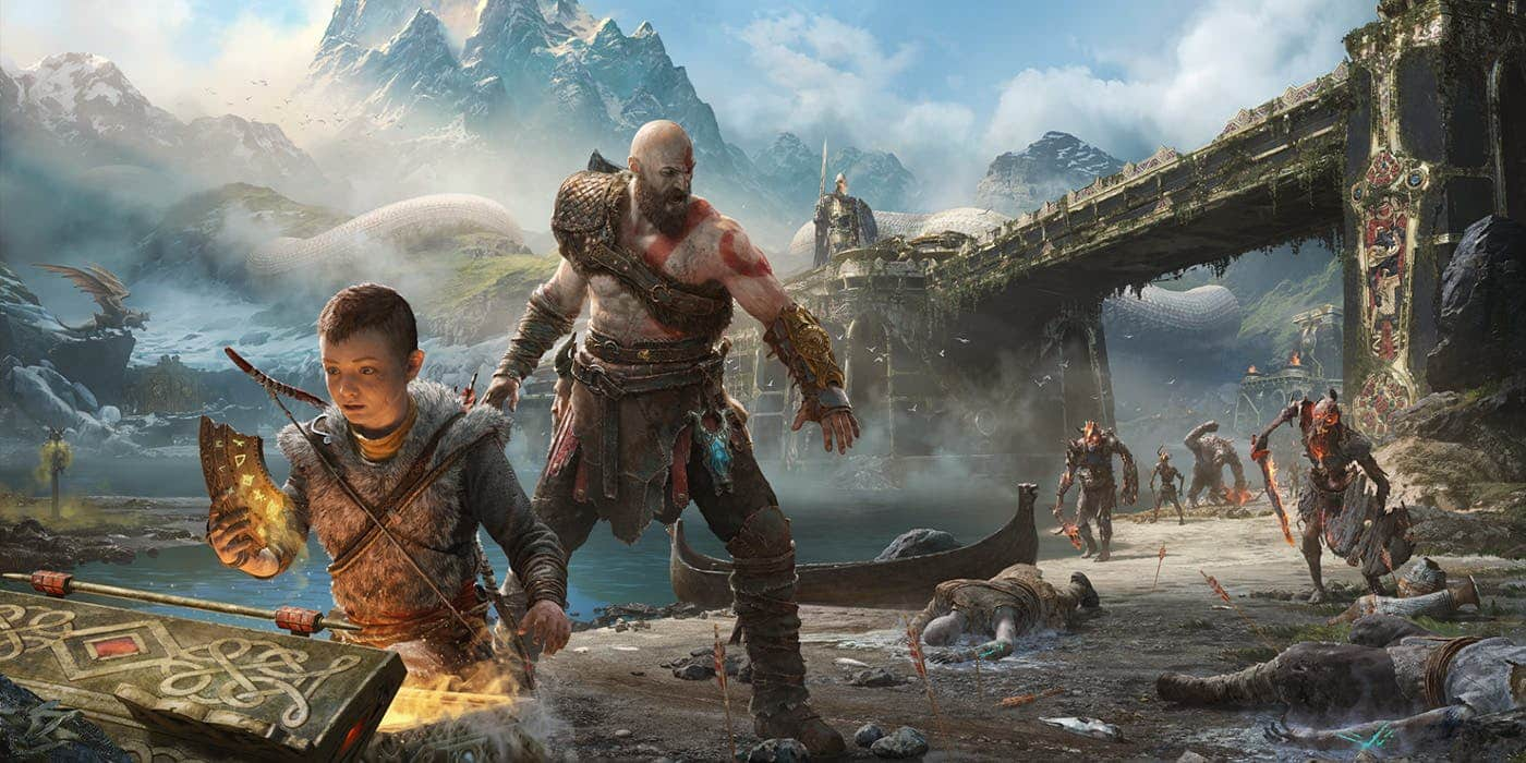 PS5 PS4 God of War Platinum Trophy