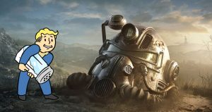 Fallout 76 player
