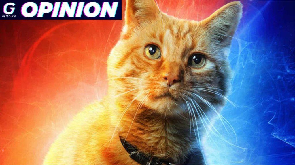 Captain Marvel's cat