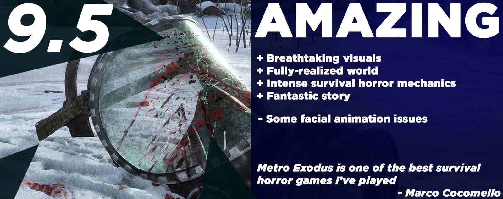 Metro Exodus Review Metro Exodus Enhanced Edition Review