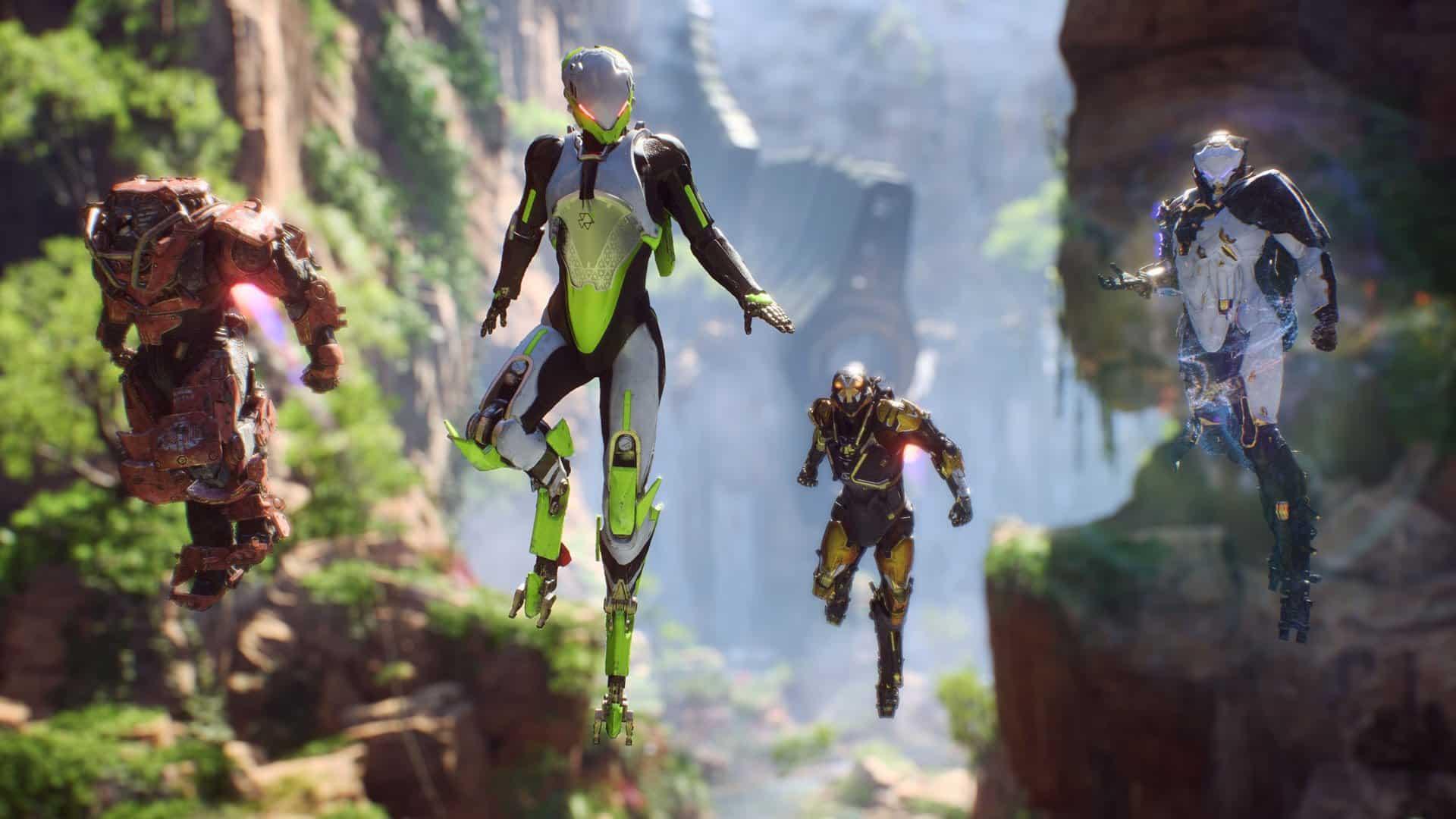 anthem Reboot EA Games Anthem 2.0
