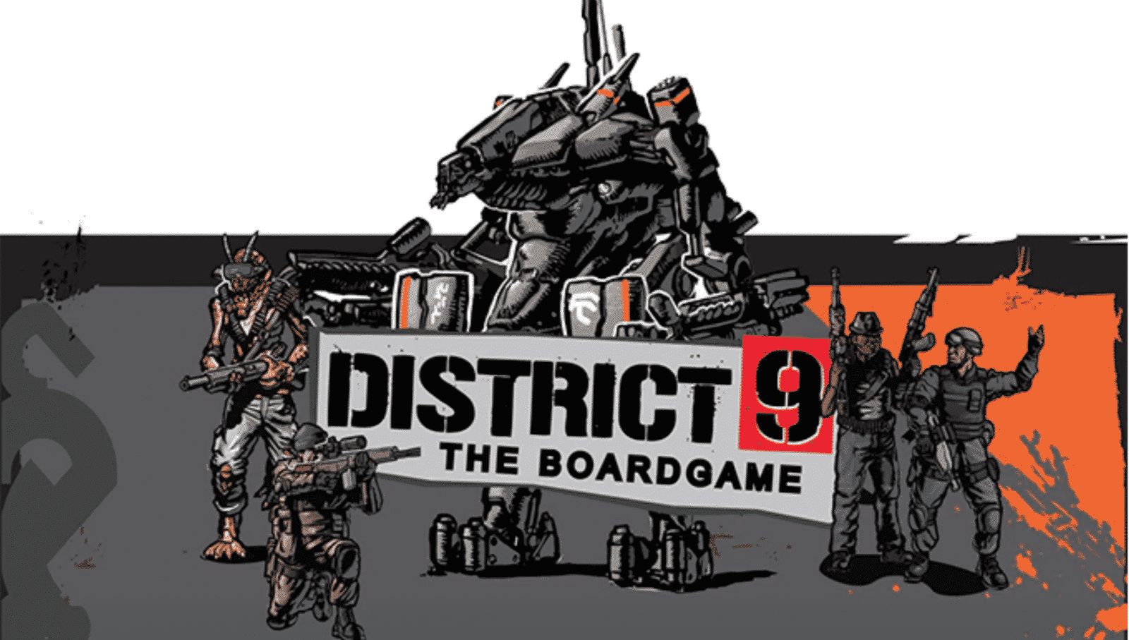 District 9 Board Game