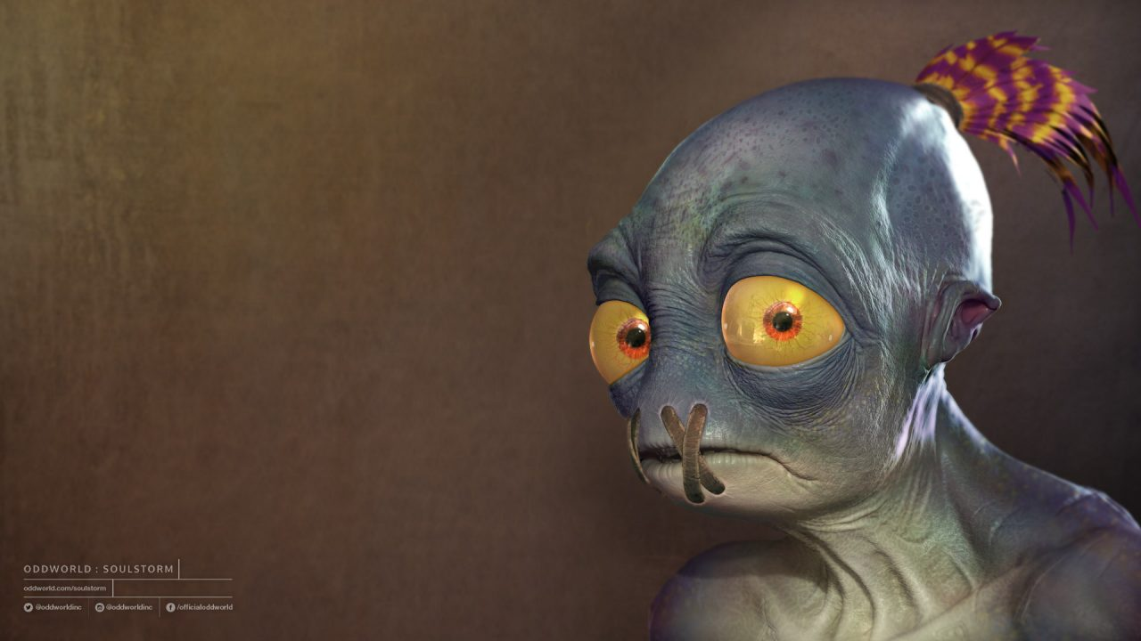 Abe is back in Oddworld: Soulstorm Announced at GDC 2019