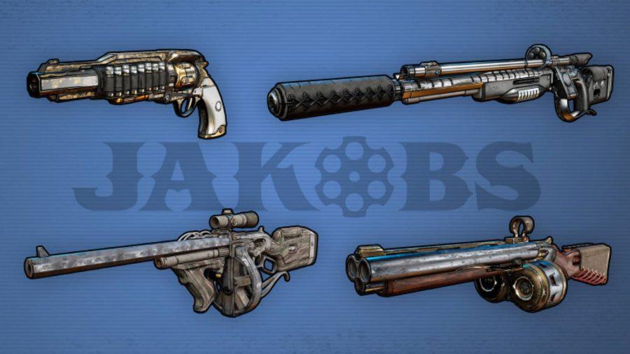 Borderlands 3 Weapons Jakobs