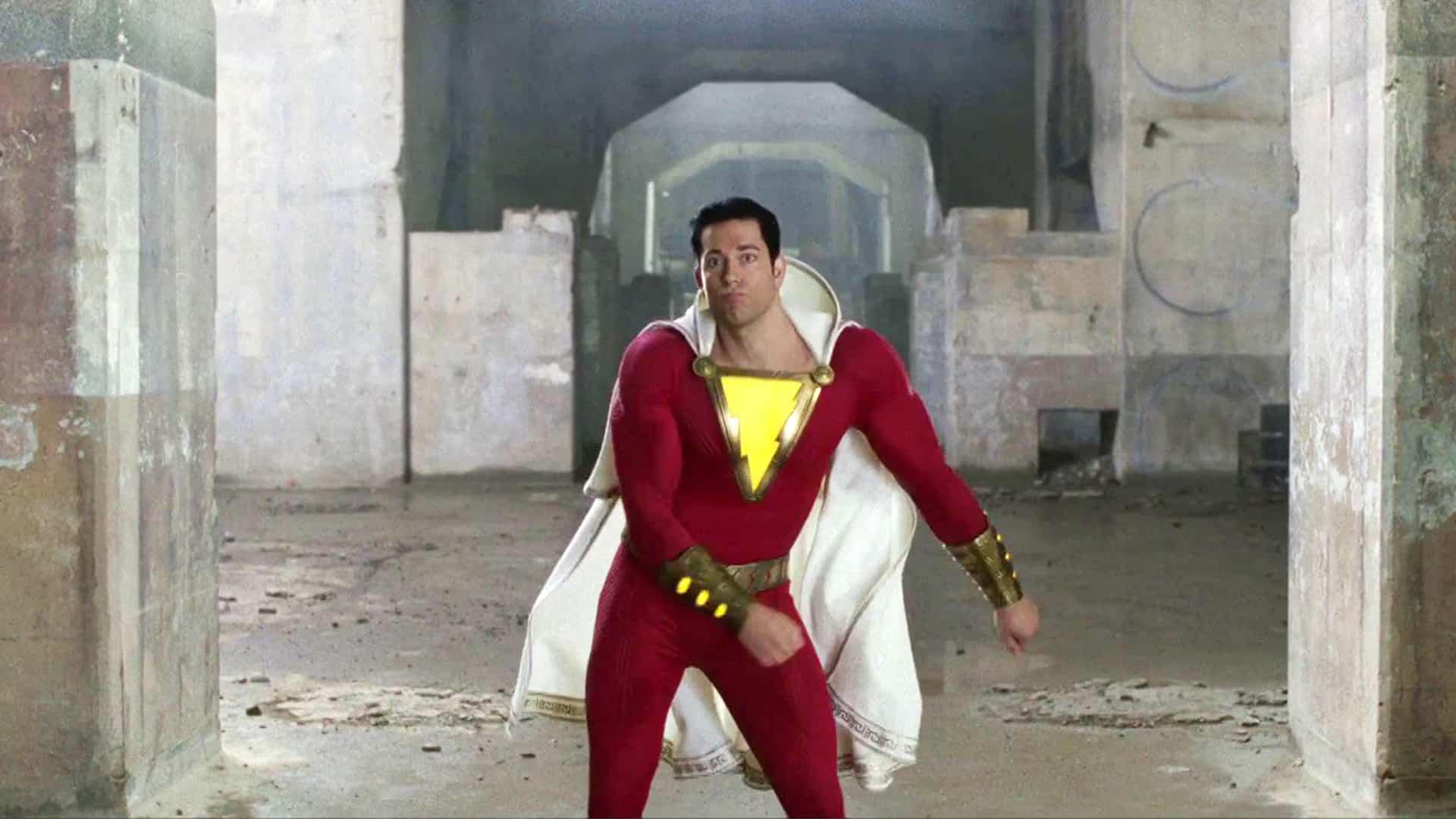 New Shazam Movie Beats Captain Marvel For The Top Spot On
