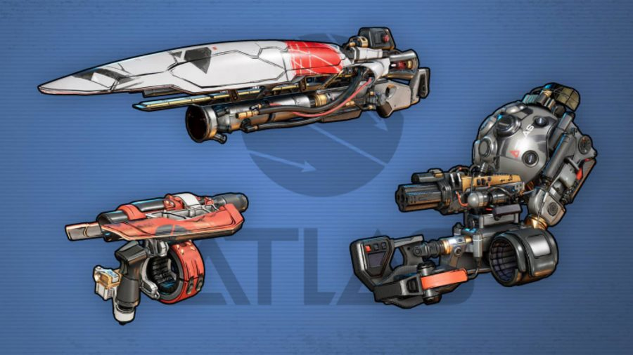 Borderlands 3 Weapons Atlas