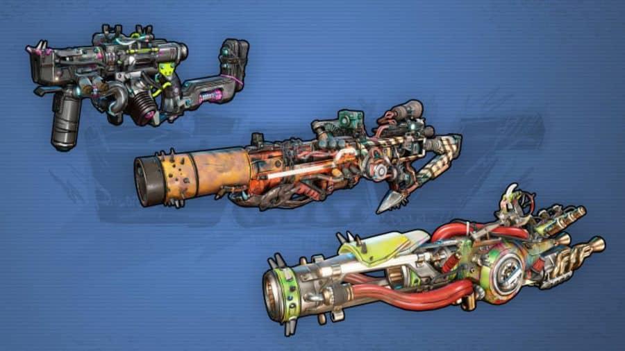 Borderlands 3 Weapons COV