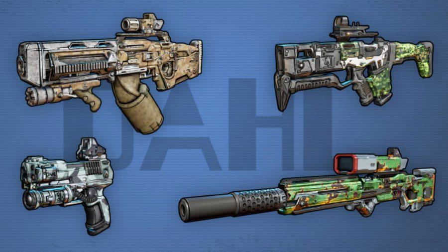 Borderlands 3 Weapons Dahl