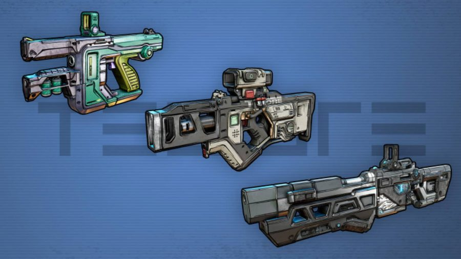 Borderlands 3 Weapons Tediore