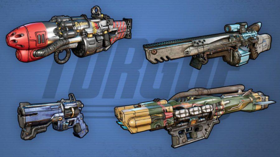 Borderlands 3 Weapons Torgue