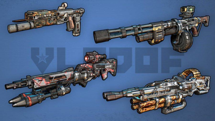 Borderlands 3 Weapons Vladof