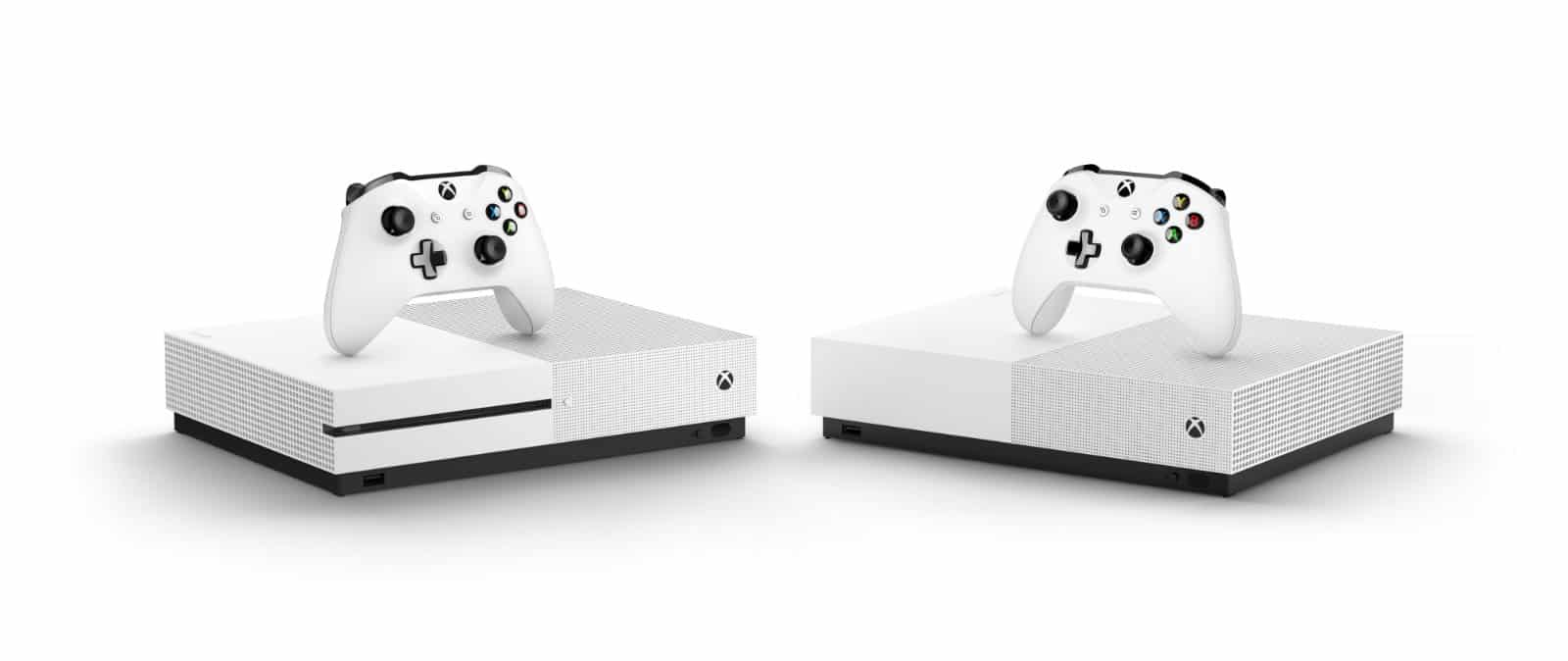 Disc-less Xbox One S