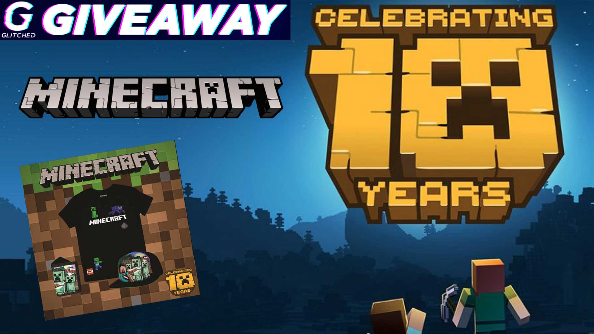 Minecraft Giveaway