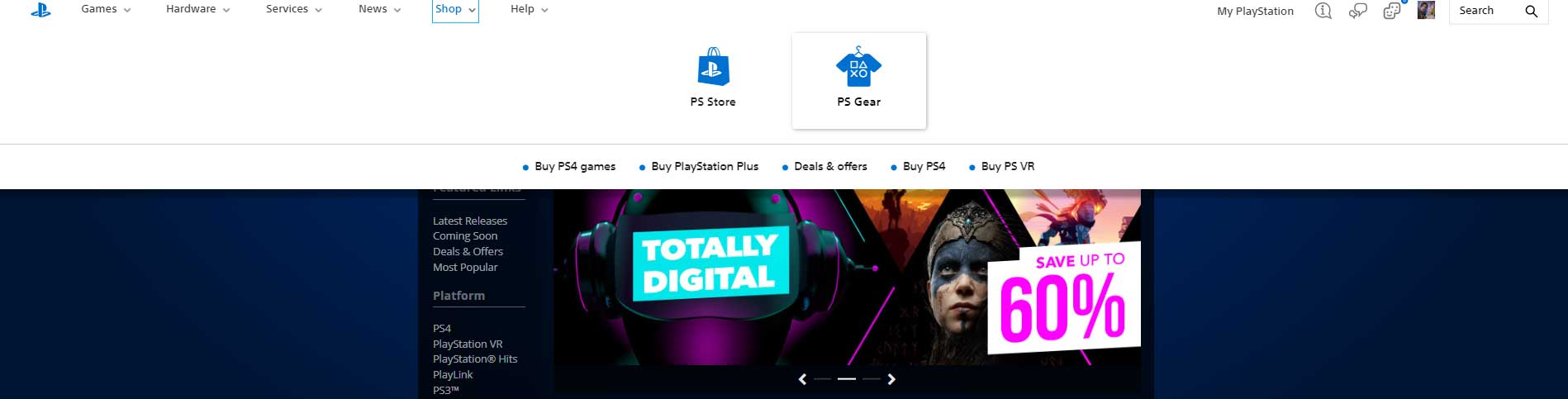 The New PlayStation Web Store is a Sad State of Affairs for South