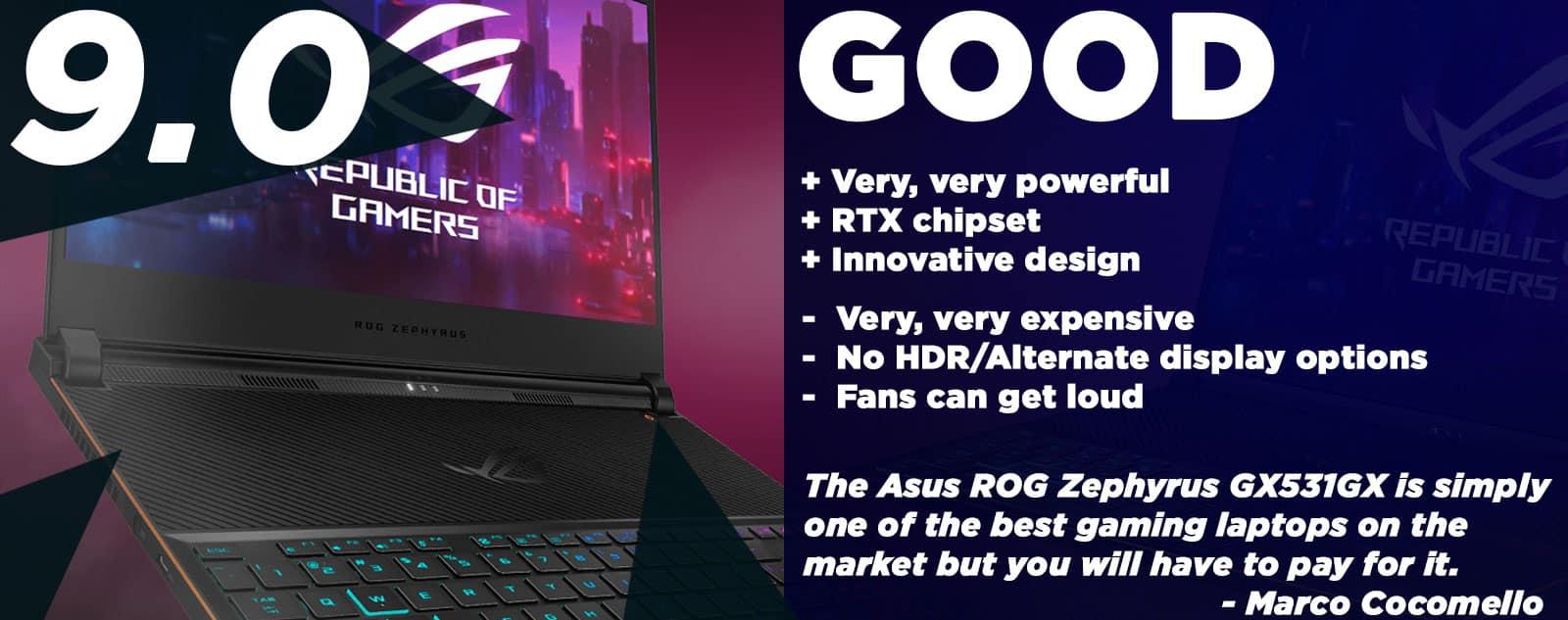 Asus ROG Zephyrus GX531GX