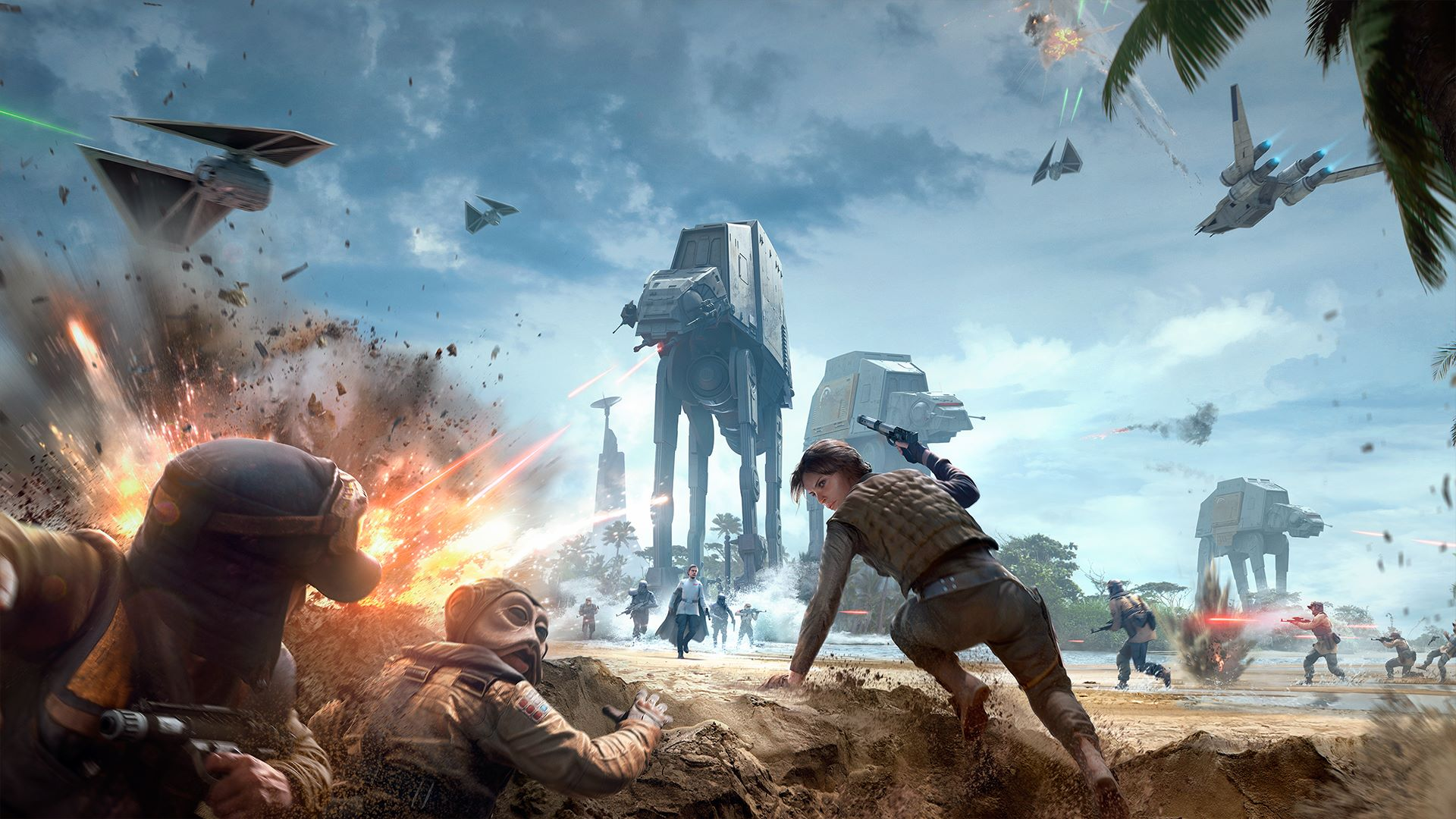EA Adds 12 Star Wars Games to Origin Access and Jedi: Fallen