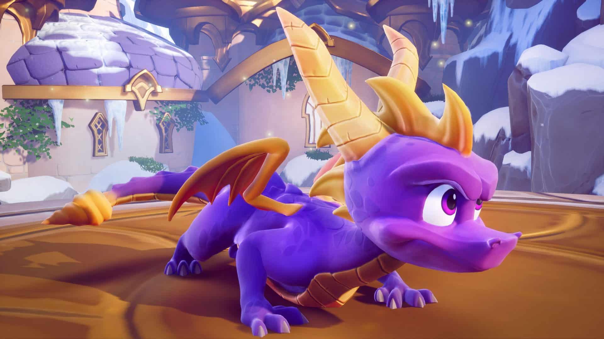 Spyro 4 video game Reignited Trilogy