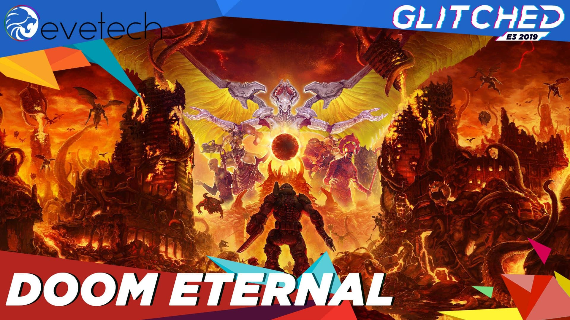 doom eternal logo template