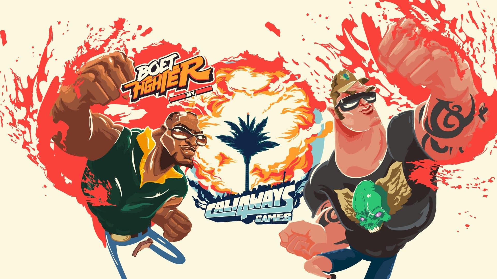Boet Fighter release date South African Cali4ways Steam