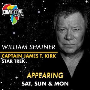 William Shatner Comic Con Africa