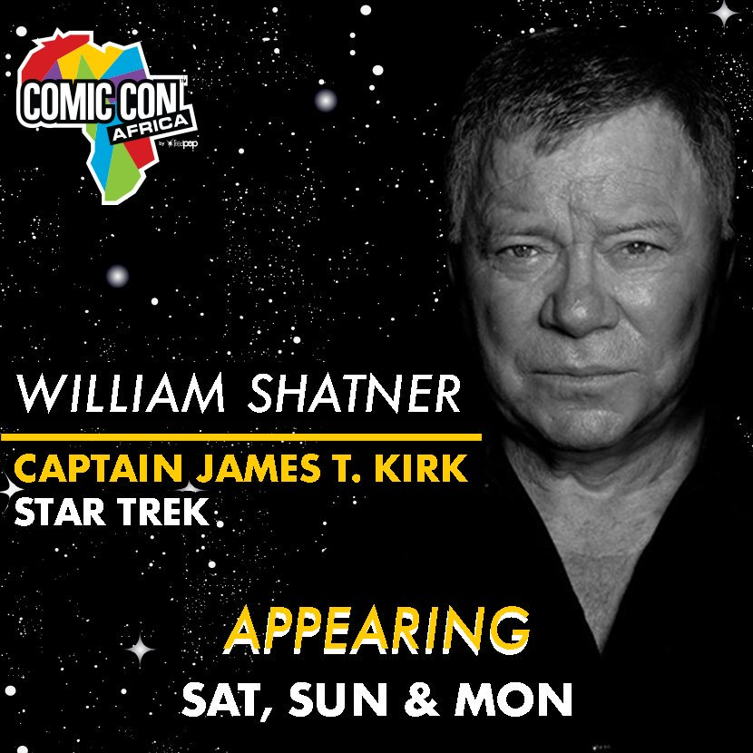 William Shatner Comic Con Africa
