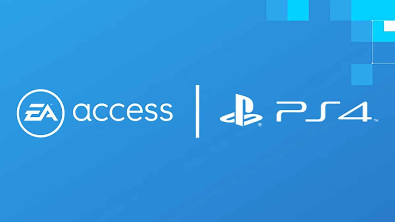 PS4 EA Access