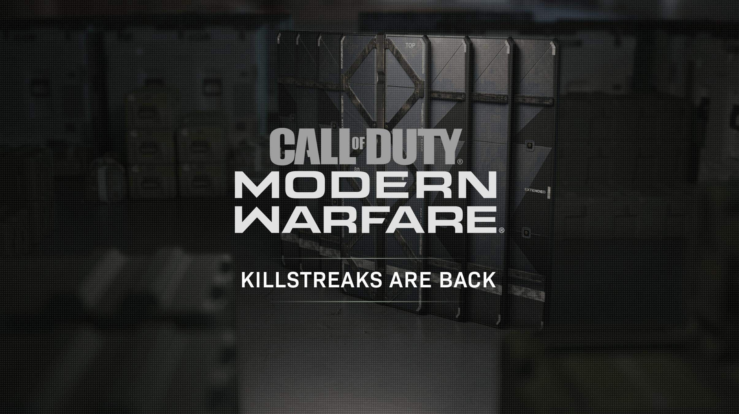 Modern Warfare Killstreaks