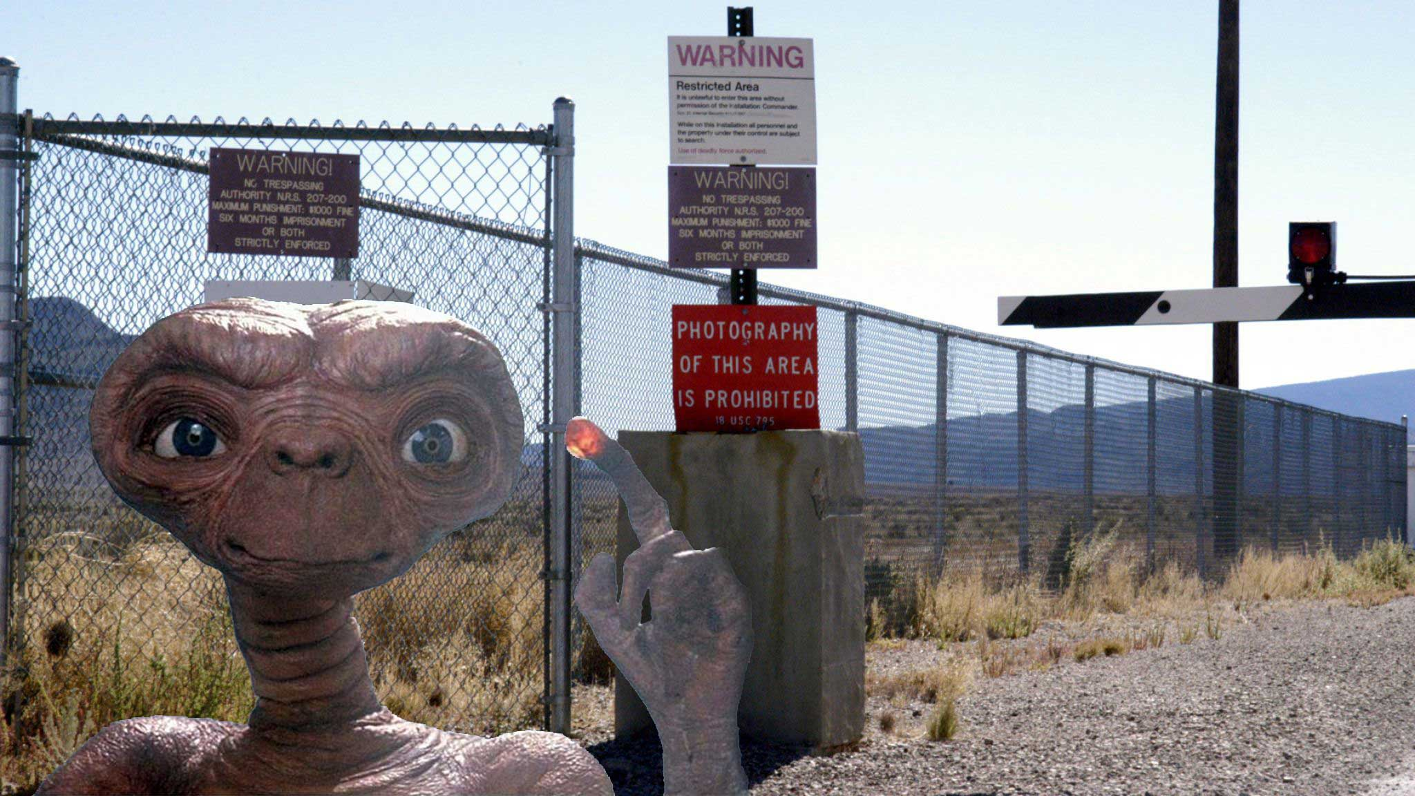 1 Million People Join Forces to Raid Area 51 to