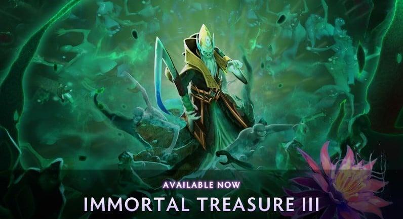 Immortal Treasure 3 Dota 2