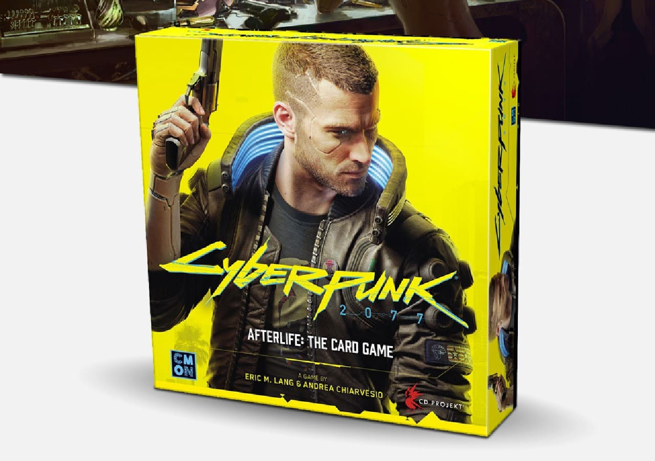 Cyberpunk 2077 - Afterlife: The Card Game