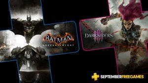 September PlayStation Plus